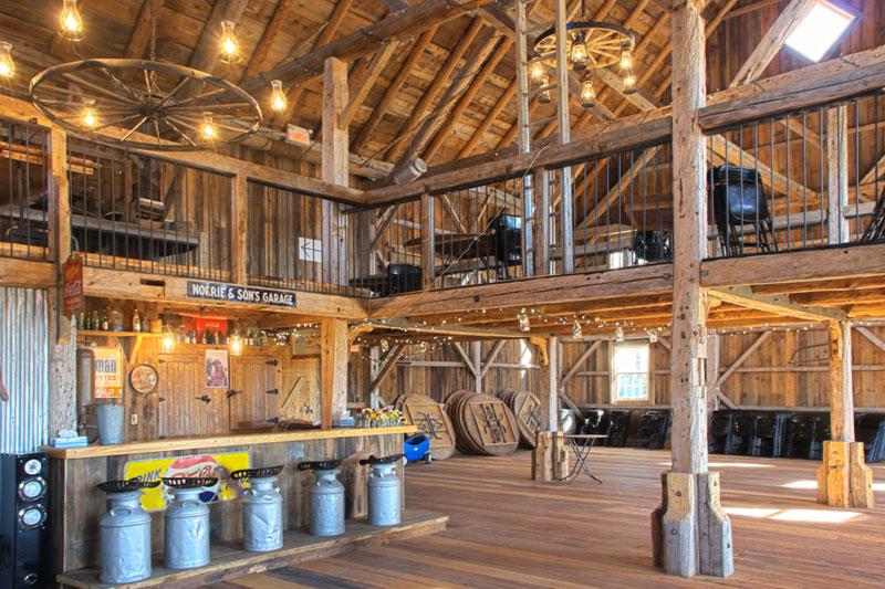 Grange Manson Barn Austin Quebec Perfect Venue For Your Big Party